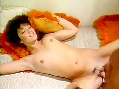 Fierce blow job from fantastic seventies porn