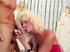 Famous classic porn star Peter North cumshot scene