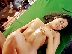 Retro porn slut cheats on her husband with 3 men