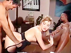 Interracial sex episode with classic porn stars