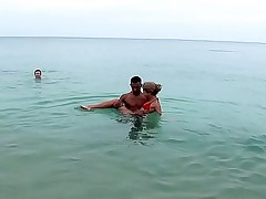 She is fucked at the sea