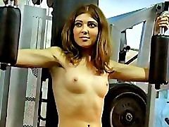 Hot videos starring nude babes at training