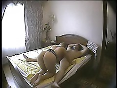 Sexy babe getting it on and slyly filmed