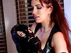 Mistress executes sexual punishments for a disobedient slave