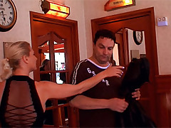 Big breasted blonde mature hooker fucking a tourist ready