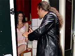 Horny paying dudes going on an amsterdam hooker sex tour