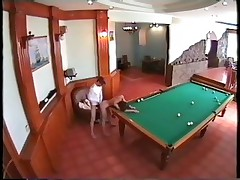 Security cam watches endvill fuck instead of billiard