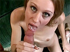 Young slut gets her tight fuck hole banged