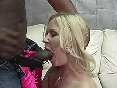 Pornstar Aralyn Barra interracial gangbang