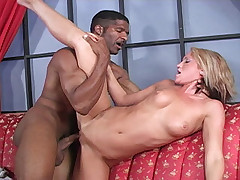 Spring Thomas sucks fucks interracial Jack Napier