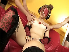 Shiho Kanou naughty Asian slut gives a close up of her wet pussy for the camera