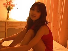 Ai Kurosawa Pretty teen is posing for pictures in her bedroom