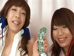 Arisa Aoyama Hot Asian schoolgirl gets anal play by her girlfriend