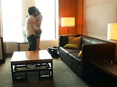 Azusa Nagasawa Asian doll gets felt up before sex in a hotel room