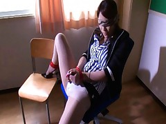 Kokomi Sakura beautiful teacher tied up and breasts groped