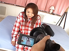 Risa Aihara  naughty and sexy Asian slut gets fucked hard by her guy friend