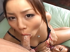 Two horny guys one Asian whore equals double penetration with two hard cocks