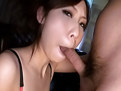 Karen Asian sex doll enjoys giving blowjobs when she is partying