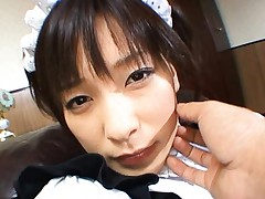 Kaho Kasumi adorable Asian cosplay girl in her fantasy costume