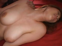 Ryo Momose Asian doll with big hooters gets a hard fucking by her boyfriend