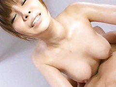 Karen Natsuhara gets fucked from behind in her tight wet pussy