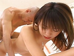 Maho Sawai getting nailed in her ass by some hard hairy cock