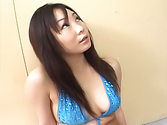 Riho Matsuoka pretty Asian slut is popular for her blow jobs when she goes out