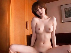 Yuria Satomi Asian with round boobies is screwed in poonanie