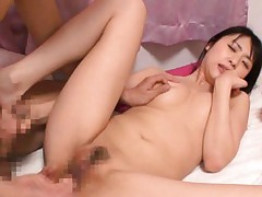Tsubomi Asian babe enjoys getting a pussy pounding by her date