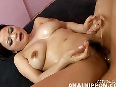 Yuu Haruka is nude and getting fucked in this messy sex scene