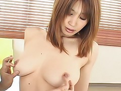 Ai Kurosawa Japanese whore gets a surprise cock from behind while she parties