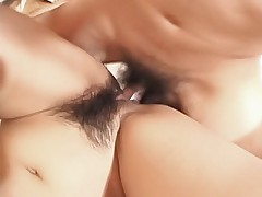 Japanese AV Model is enjoying a huge cock pounding her tight pussy on a date
