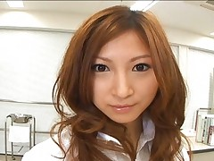 Chihiro Hara beautiful as a naughty doctor who loves sperm