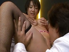 Meguru Kosaka sucks a nice fat asian dick and loves having cock in her mouth