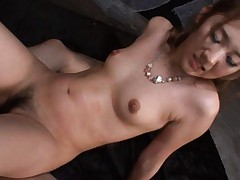 Karin Tsubaki has sexual intercourse with two horny studs