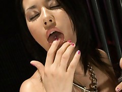 Maria Ozawa Asian with big and dirty melons has tongue pierced