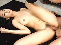 Maria Ozawa Asian with naughty hooters gets so much dick in peach