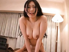 Japanese AV Model Nude gal is showing tits and getting a pounding