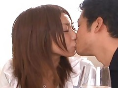 Mika Kayama moans as her pussy is licked by her lover