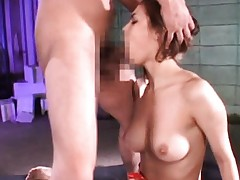 Maria Ozawa Asian pulled of hair and forced to suck dudes dongs