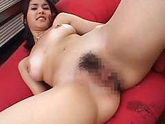 Maria Ozawa Asian sucks dong and has juices pouring from coochie