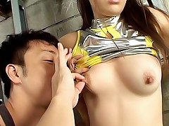 Cute Asian tramp likes sucking a cock before getting a hard pussy pounding