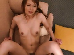 Jessica Kizaki Asian screams and moans while is strongly fucked