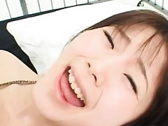 Saki Tsuji Asian screams a lot as her vagina is fingered deeply