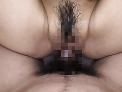 Anna Kisa Asian is deeply and roughly fucked in her hairy vagina