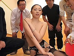 Asami Ogawa naughty Asian tramp shows her perfect body and sucks cock