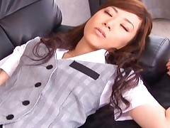 Keito Miyazawa sexy girl is napping and her clothes are removed