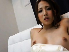 Ayaka Tomoda pretty gal gets tight cameltoe