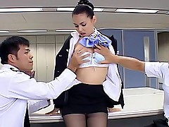 Maria Ozawa Japanese fuck doll spreads legs to show her hairy pussy