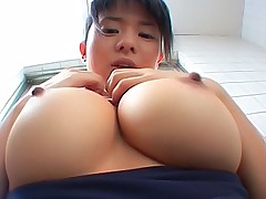 Sora Aoi Japanese schoolgirl shows off her perfect tits and firm ass in the room